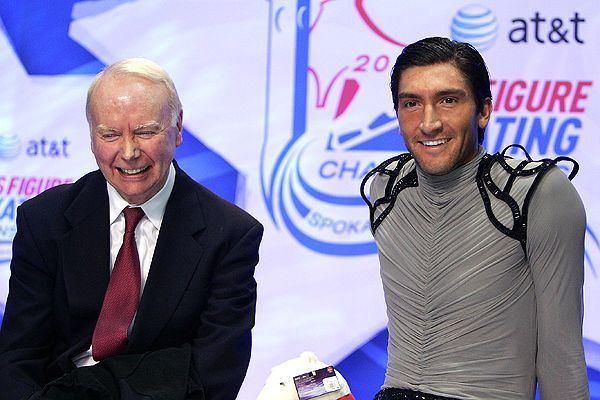 John Nicks 2010 Winter Olympics Coaching legends Frank Carroll and