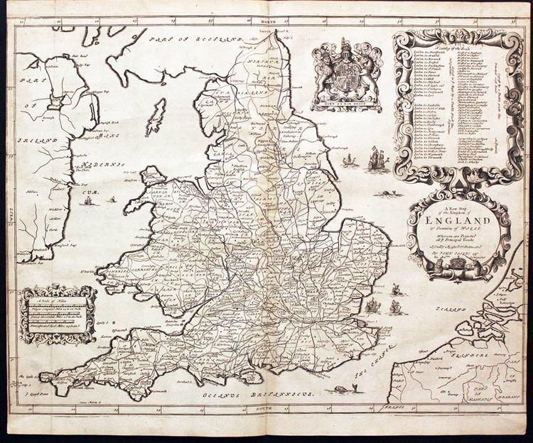 John Ogilby John Ogilby Richard Nicholson of Chester