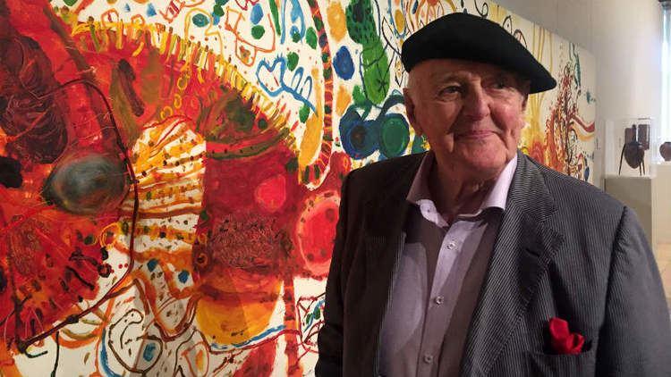 John Olsen (artist) Artist John Olsens hometown tribute ABC News Australian