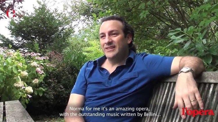 John Osborn (tenor) Interview The Tenor John Osborn about Norma for