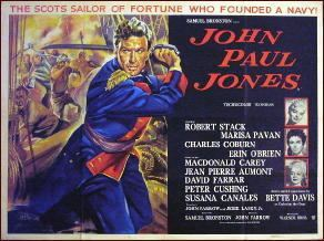 John Paul Jones (film) A Movie Review by Jonathan Lewis JOHN PAUL JONES 1959