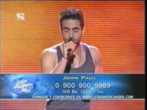 John Paul Ospina John Paul Ospina Latin American Idol YouTube