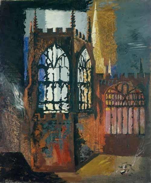 John Piper (artist) Exhibition John Piper and the Church Dorchester Abbey