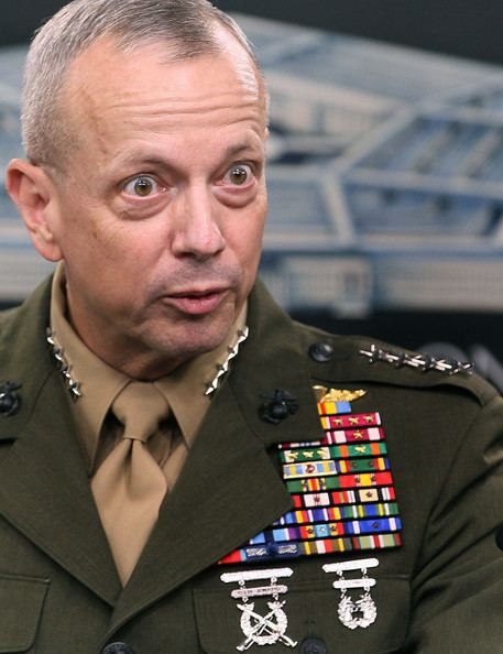 John R. Allen ISAF Commander Gen John R Allen Briefs Media At Pentagon