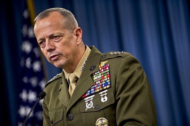 John R. Allen CIA Boss Petreus Affair ScandalGeneral John Allen