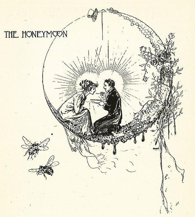 John R. Neill John R Neill Artwork 1914 Bridal Book The Unravelling