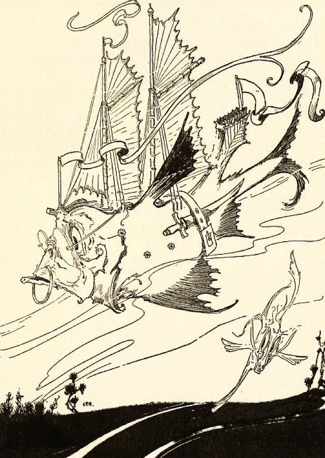 John R. Neill John R Neill Artwork The Sea Fairies Part II The