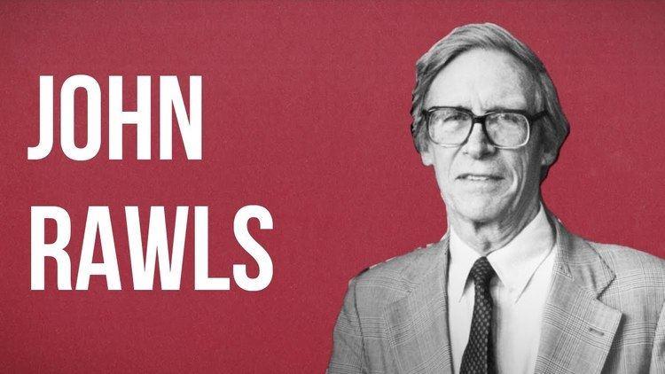 John Rawls POLITICAL THEORY John Rawls YouTube