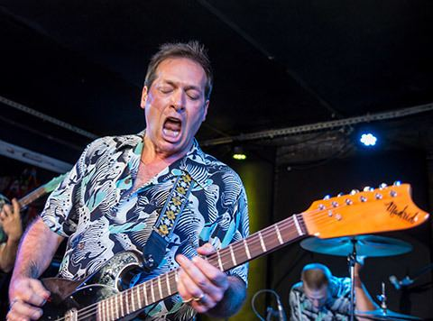 John Reis John Reis amp The Blind Shake played Mercury Lounge with The
