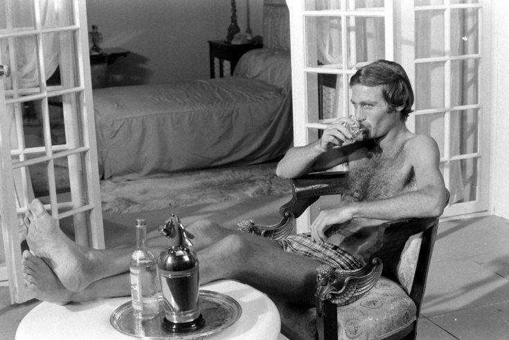 John Richardson (actor) vintage everyday James Bond Rare and Unpublished Photos