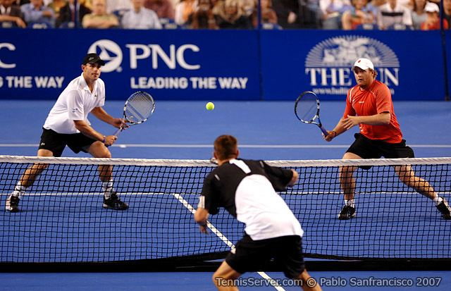 John Roddick Tennis Server ATPWTA Pro Tennis Showcase 2007 PNC