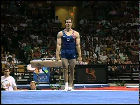 John Roethlisberger John Roethlisberger Floor Exercise 1996 Olympic Trials