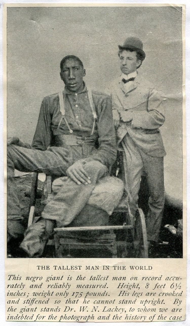 Image result for John Rogan tallest African American
