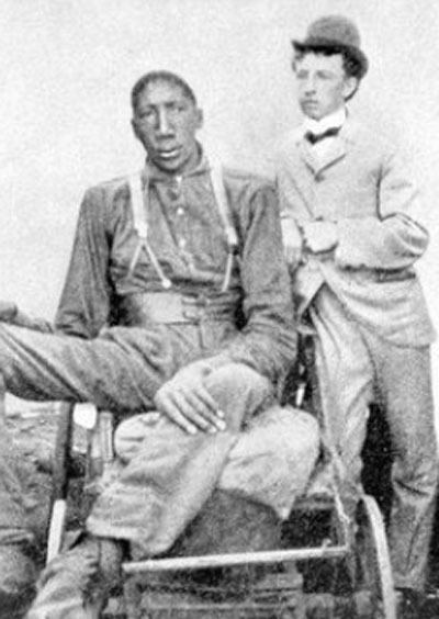 John Rogan Black Then At 8 Feet 8 in The Tallest African American