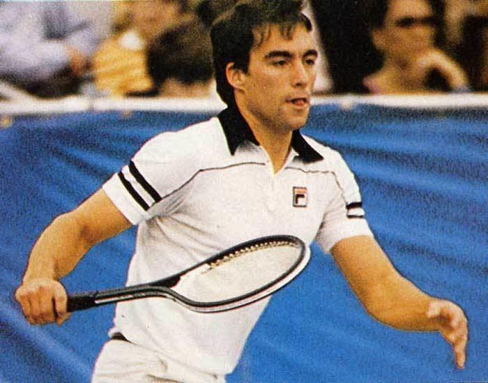 John Sadri Fila tennis shirt 1980 player John SadriUSA