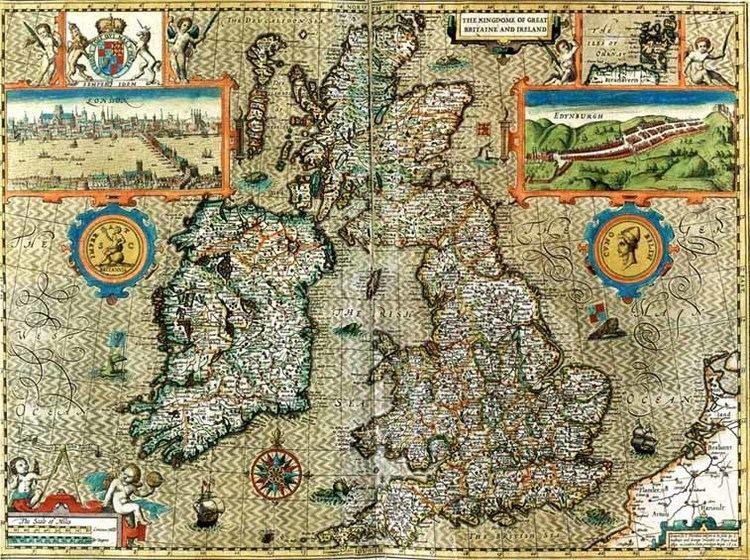John Speed Historical maps