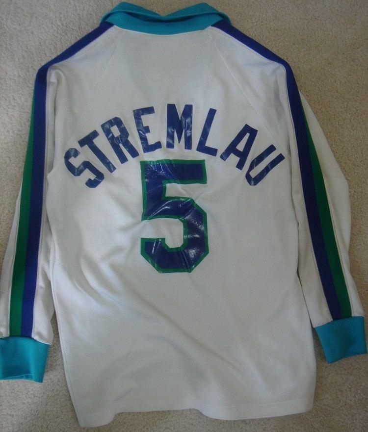 John Stremlau Major Indoor Soccer League Jerseys
