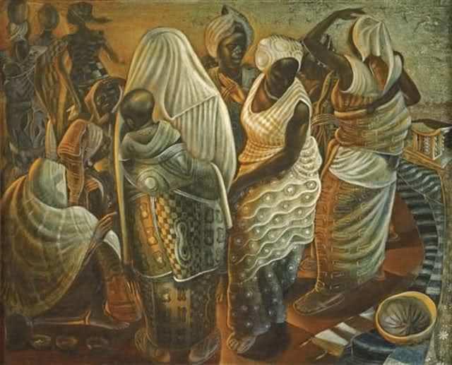 John T. Biggers Black History Month John T Biggers 19242001 by