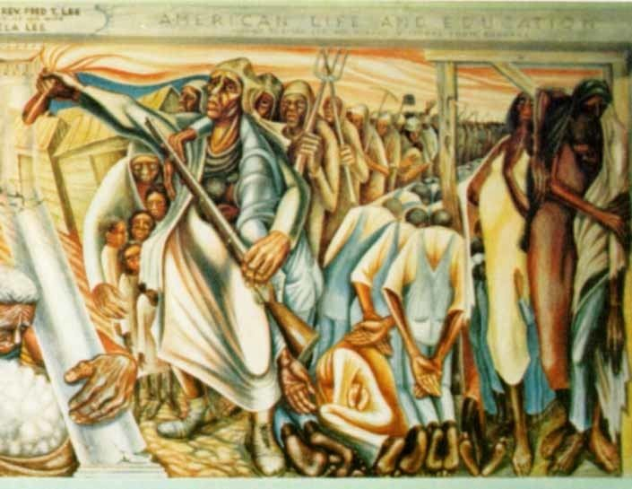 John T. Biggers Strength Tears and Will John Biggers39 quotContribution of