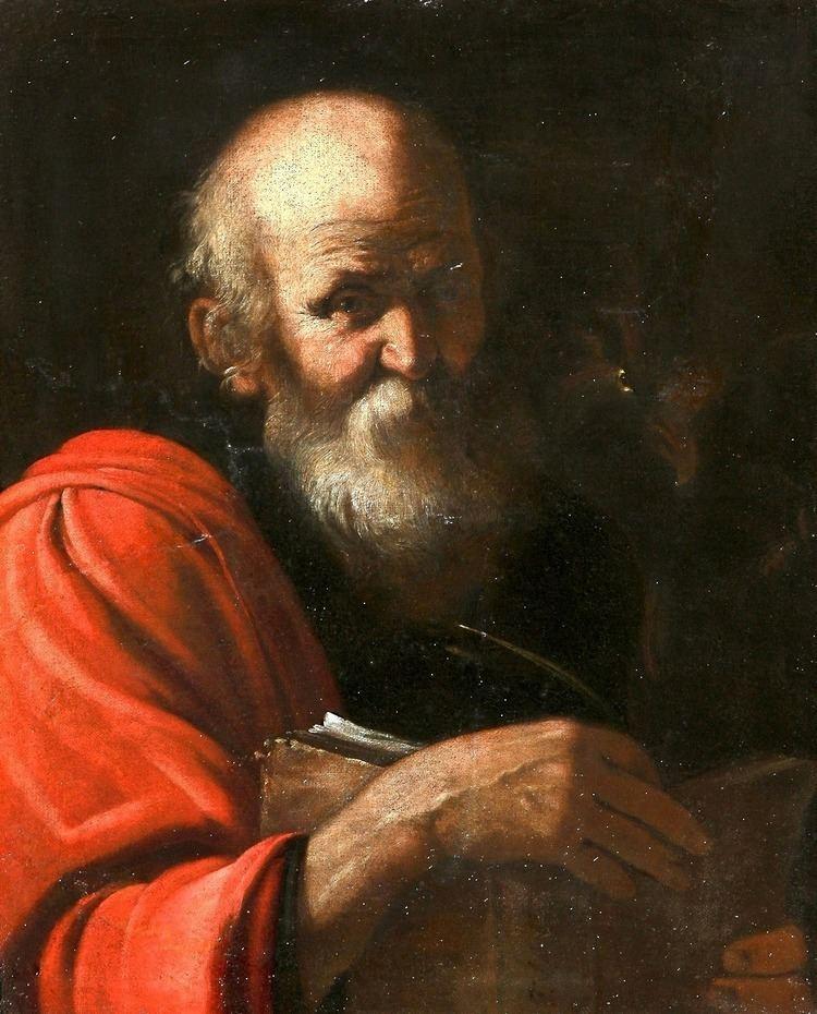 John the Apostle Nec Spe Nec Metu Orazio Fidani Saint John the Apostle