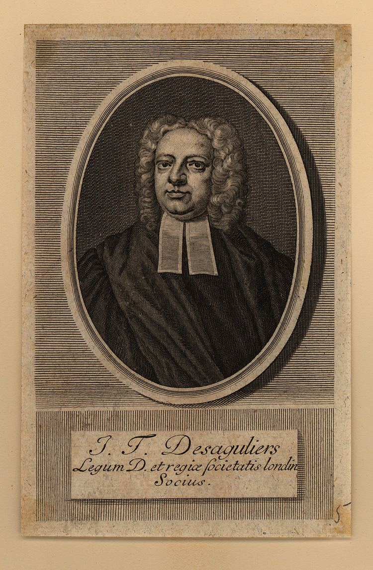 John Theophilus Desaguliers Scientific Identity Portraits from the Dibner Library of