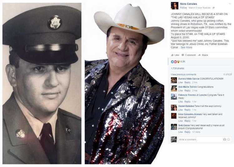 Johnny Canales Texas legendary show host Johnny Canales to be immortalized in