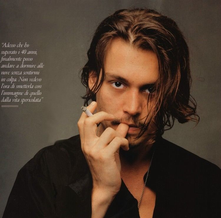 Johnny Depp Johnny Depp fragrance campaign american actor producer