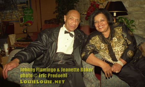 Johnny Flamingo Hail Hail Johnny Flamingo and Jeanette Baker The Louie Report