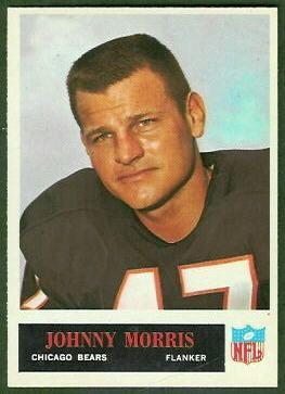 Johnny Morris (American football) wwwfootballcardgallerycom1965Philadelphia23J