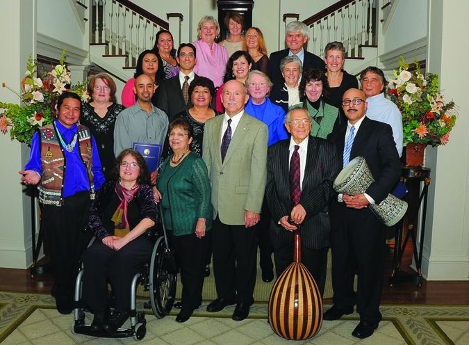 Johnny Moses Governor Gregoire honors Tulalip storyteller Johnny Moses Tulalip