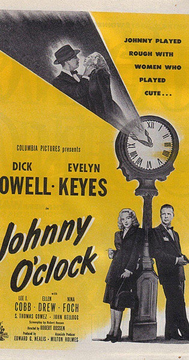Johnny O'Clock Johnny OClock 1947 IMDb