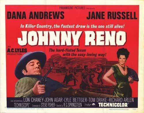 Johnny Reno Johnny Reno movie posters at movie poster warehouse moviepostercom