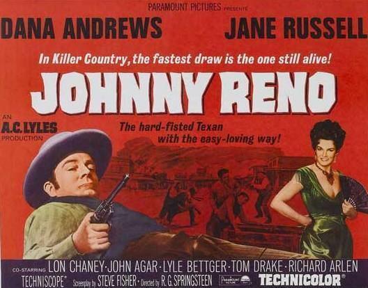 Johnny Reno Westerns on the Blog Johnny Reno