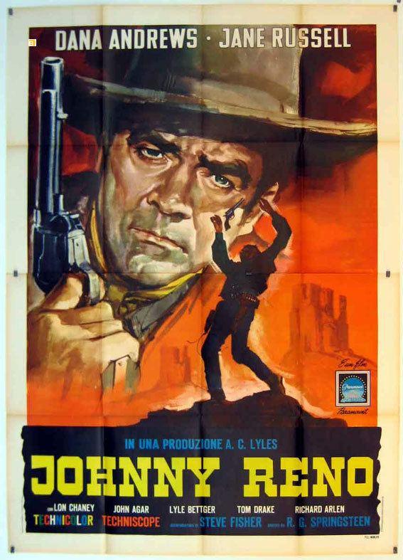 Johnny Reno JOHNNY RENO MOVIE POSTER JOHNNY RENO MOVIE POSTER