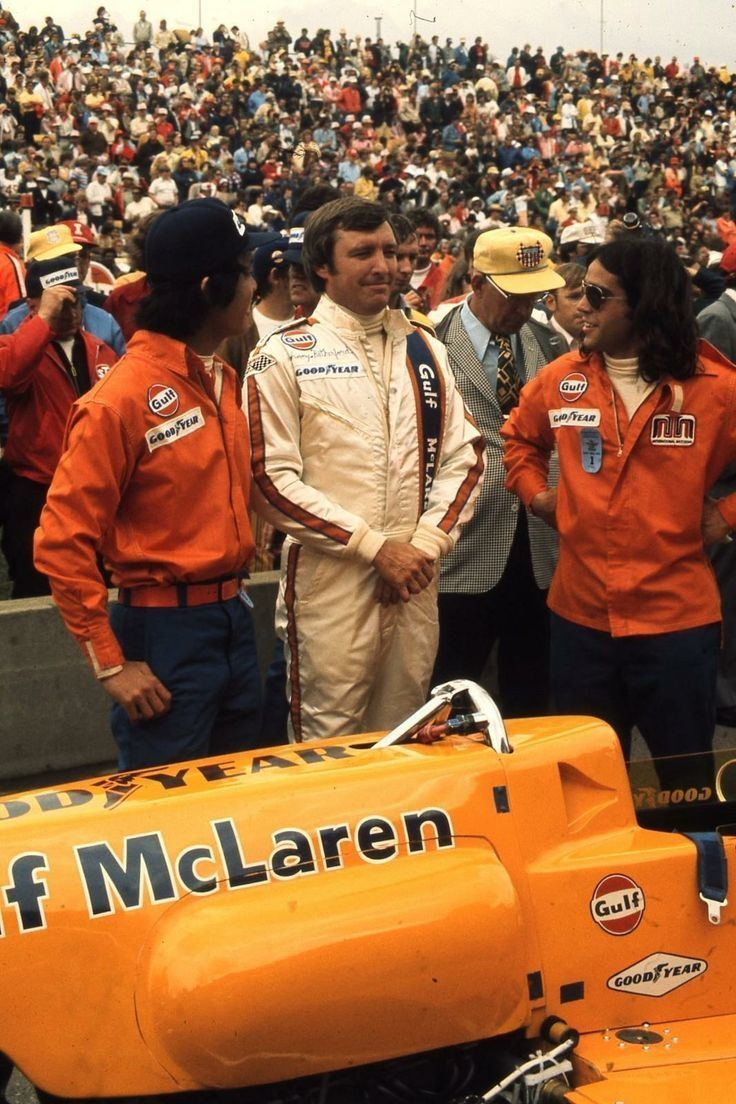 Johnny Rutherford Johnny Rutherford Indy 1975 McLaren M16E INDY amp F 5000