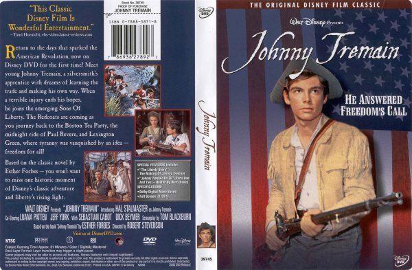 Johnny Tremain (film) Johnny Tremain 786936278927 Disney DVD Database