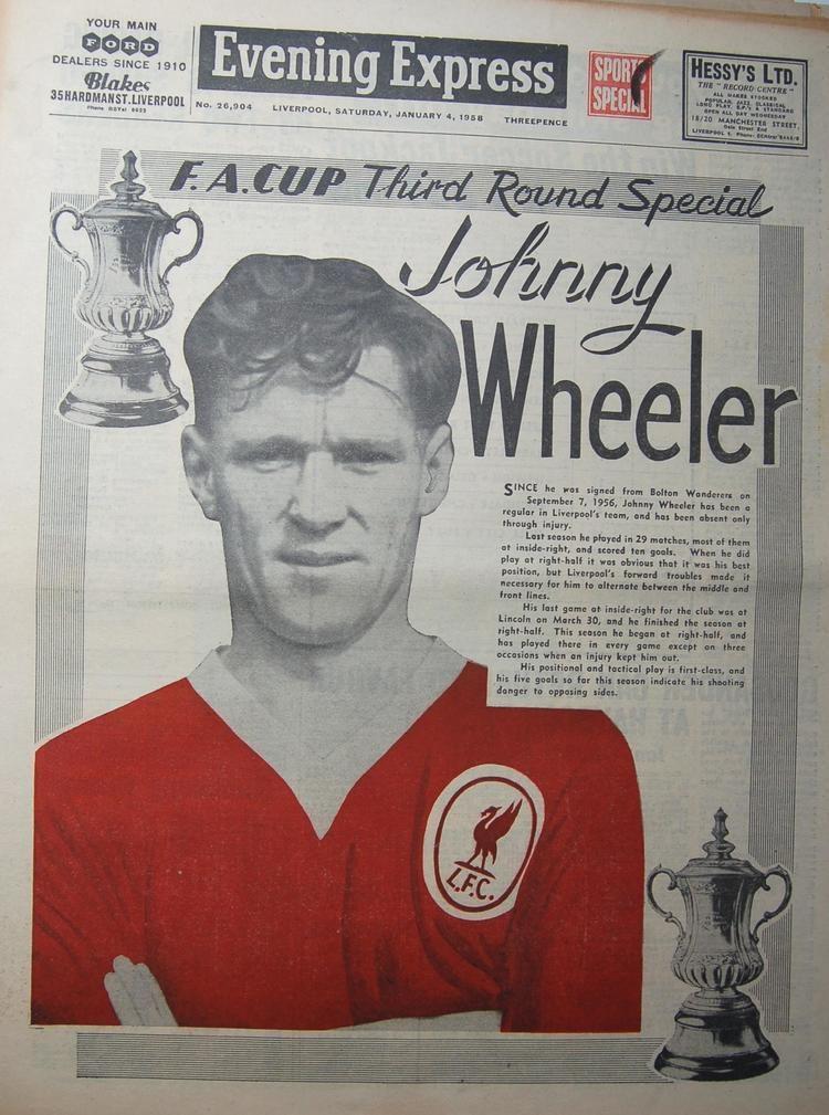Johnny Wheeler Liverpool career stats for Johnny Wheeler LFChistory Stats