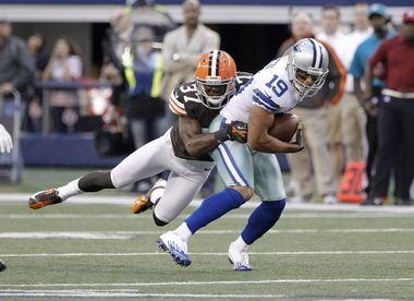 Johnson Bademosi Cleveland Browns rookie Johnson Bademosi knows how to take