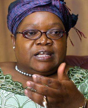 Joice Mujuru I was a clear successor to Mugabe says former VP Joice Mujuru