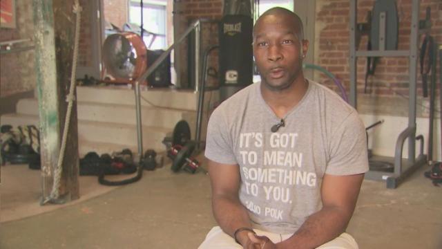 JoJo Polk Once paralyzed JoJo Polk now inspiring gymgoers in Raleigh