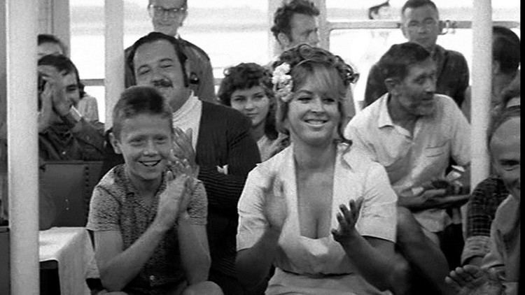 "Jolanta Lothe's scene from the movie ""The Cruise"" (1970)"