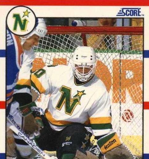 Jon Casey 198889 Jon Casey Minnesota North Stars Game Worn Jersey