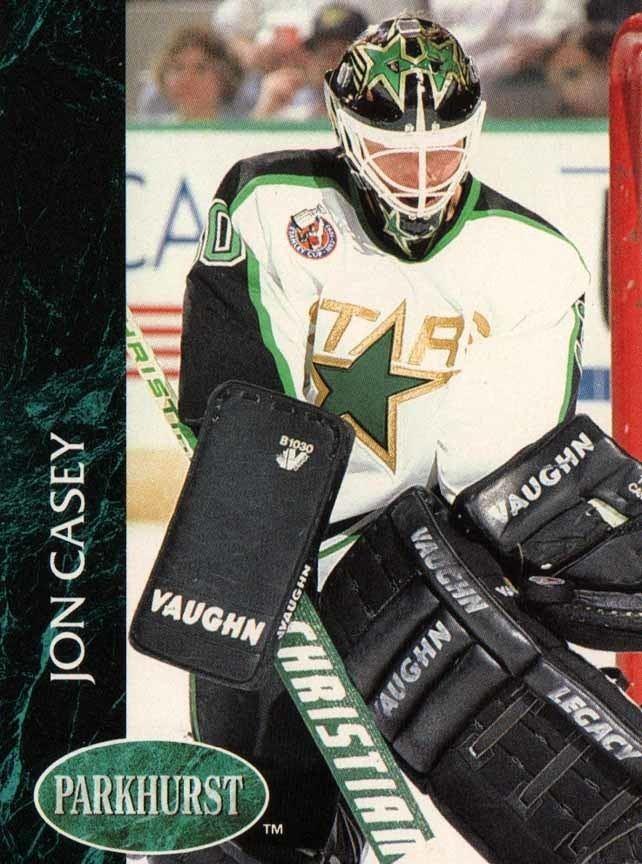 Jon Casey 199193 Jon Casey Minnesota North Stars Game Worn Mask