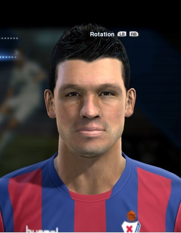 Jon Errasti Errasti Jon Eibar face for Pro Evolution Soccer PES