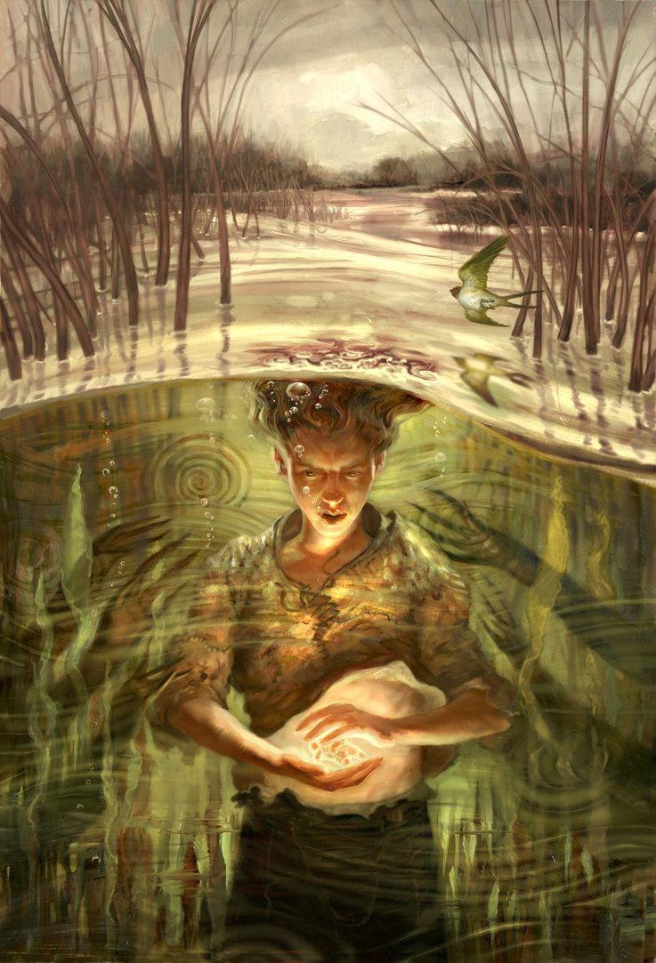Jon Foster (artist) Marsh by JonFoster on DeviantArt