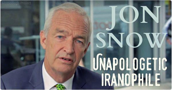 Jon Snow (journalist) Snow A British Journalist Reporting From Iran