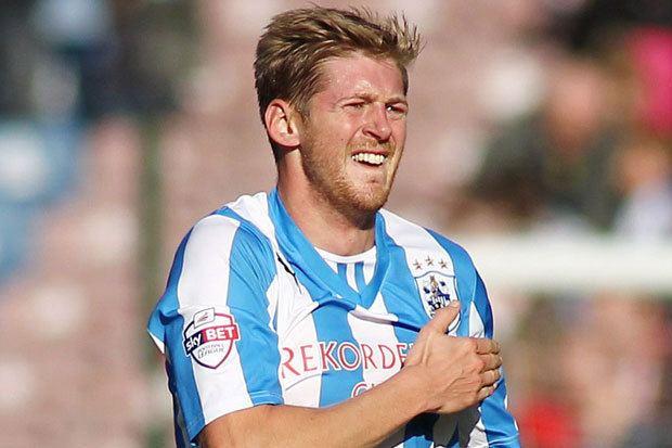 Jon Stead Huddersfield 3 Leeds 2 Jon Stead gives Mark Robins reason