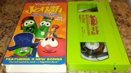 Jonah Sing-Along Songs and More! Veggie Tales Jonah Singalong Songs and More VHS Veggie tales and