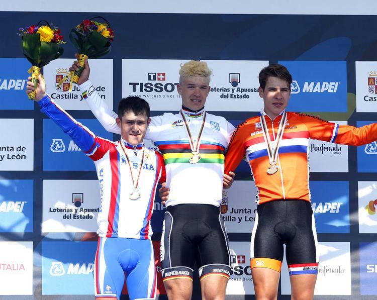 Jonas Bokeloh German Jonas Bokeloh takes junior road race world title