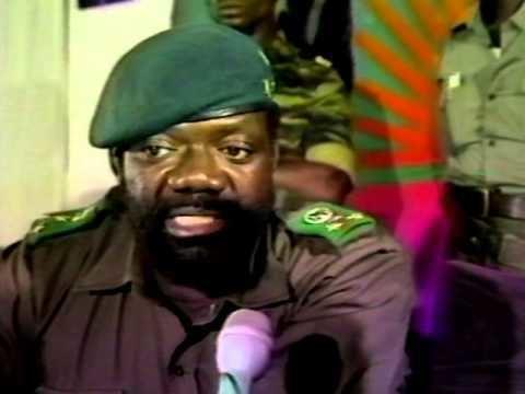 Jonas Savimbi SABC TV News 1984 Savimbi 14 YouTube